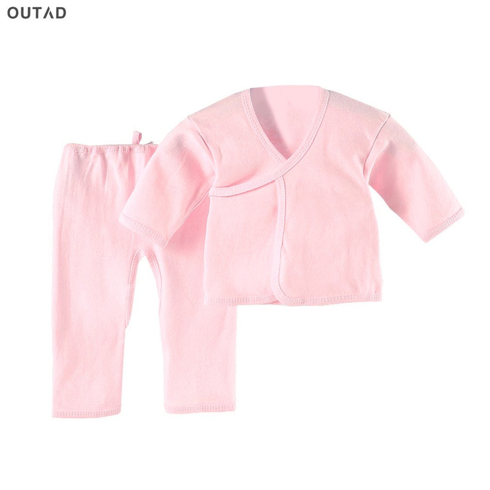 2017 Newborn clothing Fashion cotton infant underwear baby boys girls suits set clothes for 0-3M Baby Robe Tops For All Seasons