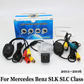 For Mercedes Benz SLK SLC Class R172 2011~2016 / RCA Wired Or Wireless / HD Wide Lens Angle / CCD Night Vision Rear View Camera