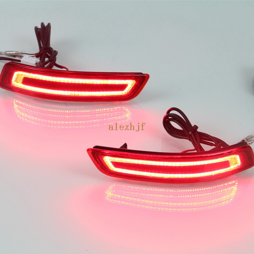 ФОТО July King LED Light Guide Brake Lights + Night Running + Turn Lights Case for Toyota Corolla EU and Lexus ES300 ES350 GS 2013+