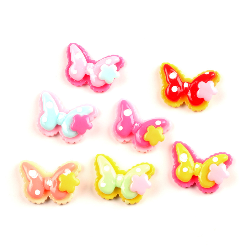 50Pcs Pink Cats Resin Beads Decoration Crafts Flatback Cabochon Scrapbooking Fit