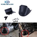 Black Motor Lower Front Spoiler Chin Fairing Cover with LOGO For Harley Davidson Sportster 1200 883 XL 2004 2015 #P111