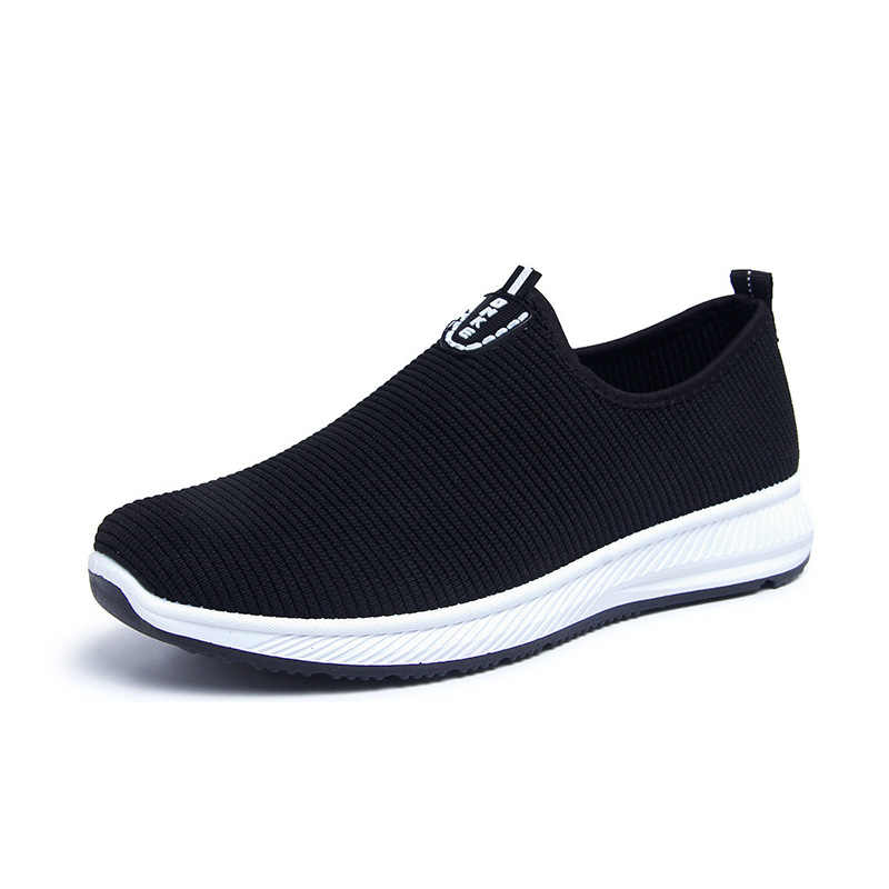 LZJ 2019 Slip-On Lichtgewicht Mesh Mannen Schoenen Casual Ademend Comfortabele Wandelschoenen Mannelijke Sneakers Tenis Feminino Schoeisel A22