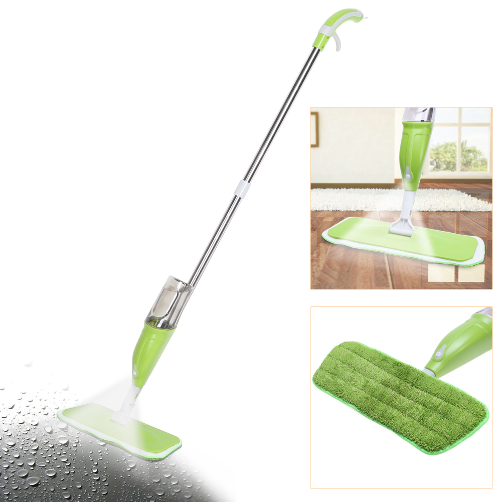 350ML Spray Mop Floor Cleaning Tool Microfiber Cloth Hand Wash Plate Mop Home Windows Kitchen Mop Sweeper Broom