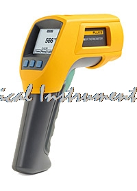 Fast arrival FLUKE 562/563 F562/F563 Infrared IR Thermometer Temperature Gauge Meter non-contact K-type thermocouple probe factory electric contact thermometer gauge full specification sx411 href