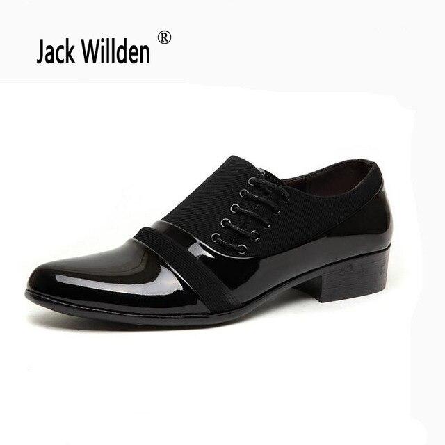 Jack Willden Bureau Hommes Chaussures Habillées Pour Hommes Costume  Chaussures De Mariage Italiennes Homme Casual Chaussures ce6a6109339