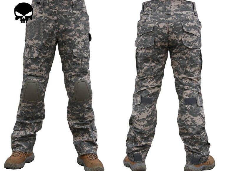 Sportbekleidung Modestil Emerson Gen2 Hosen Mit Knieschützer Kampf Tactical Airsoft Hosen Städtischen Tactical Hose Herren Militär Kampf Angriff Outdoor Sport