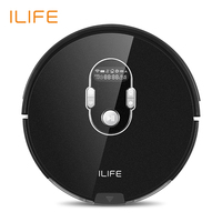 ILIFE A7 Robot Cleaner Vacuum Smart Planned APP Control for Floor and Thin Carpets