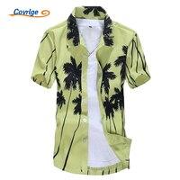 Men Hawaiian Shirt 2017 Summer Mens Beachwear Men S Floral Shirt Fashion Short Sleeve Beach Shirts