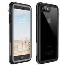 For iPhone 7 8 Plus Waterproof case life water Shock Dirt Snow Proof Protection for iPhone 7 8case With Touch ID Case Cover