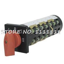 380В 3KW 24 Винтовые Клеммы 5 Положения Переключающих Поворотный Переключатель Cam HZ5B-10/7 T72