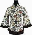 Горячая распродажа многоцветная китайском стиле тан костюм верх женского белья куртка цветок кнопка пальто Большой размер L XL XXL XXXL 4XL 5XL 2218