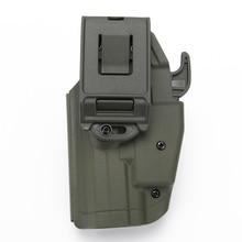 WoSporT военно-тактические скрытого ношения Пластик пистолет кобуры пистолет для охоты страйкбол Пейнтбол армейская ремень GLOCK19 23