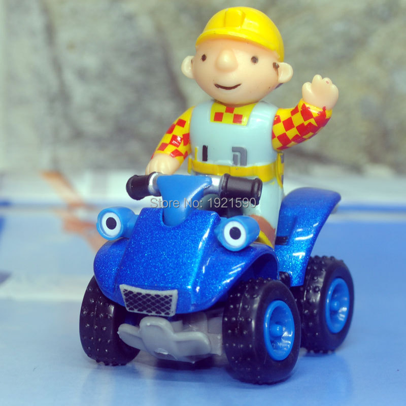 Brand New Bob The Builder Toys BOB And ATV Diecast Metal Magnetic Car Toy For Gift