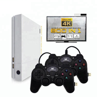 HD Game Console 64 Bit Support 4K HDMI TV Output Built In 800 Games For PS1/G.B.A. Retro Console