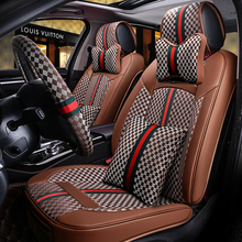 car seat cover,auto seats case for audi a5 sportback a6 c5 avant c6 c7 allroad q3 q5 q7 2016