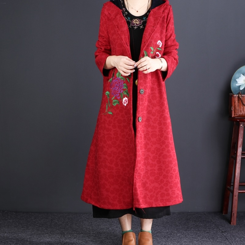 Dames Aa4347 Coat Automne Style 1 Chinois Femme Chaud Femmes Manteaux 2018 Pour 2 Les Trench Musicale Styles Long Hiver 4aqBwxw