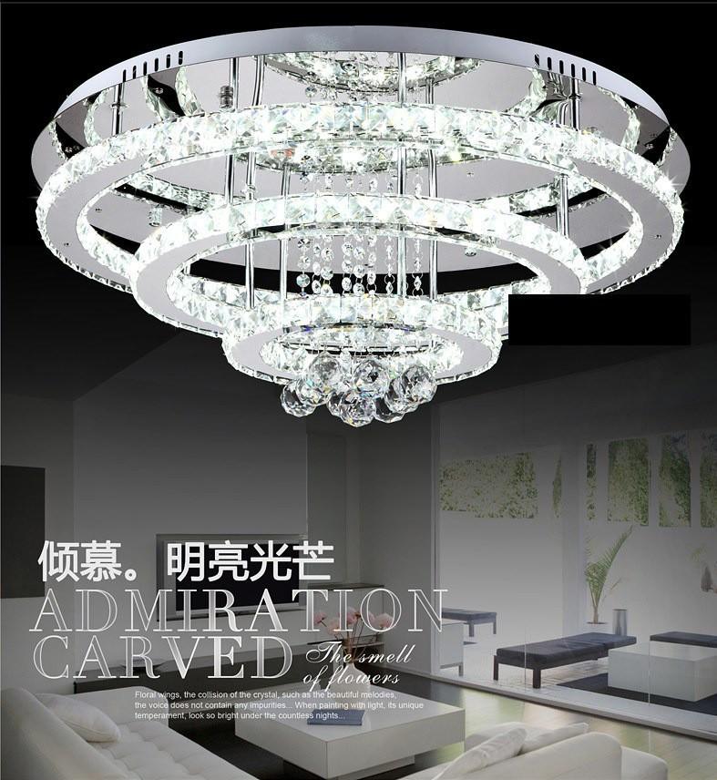 Modern fashion three rings Bedroom lamp Hall