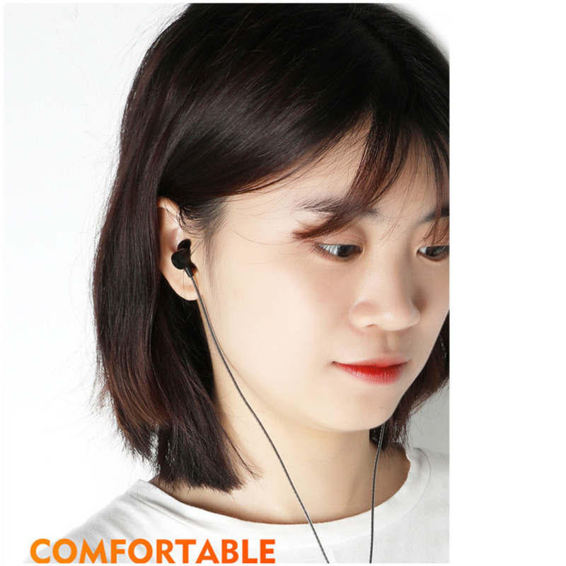 Image 5 - 3.5mm Wired Earphone Control Stereo Sports Headphones Music Earbuds With Microphone Game Earbuds For Xiaomi Huawei Samsung sh*-in Phone Earphones & Headphones from Consumer Electronics