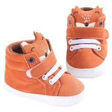 Весенняя обувь для маленьких мальчиков и девочек; парусиновые кроссовки; хлопковая ткань; детская обувь с лисьим носком и кружевом; нескользящая Мягкая подошва; обувь для малышей; обувь для первых шагов