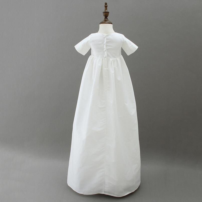 White Baby Boy Long Baptism Gown Dress with Bonet-in Dresses from ...