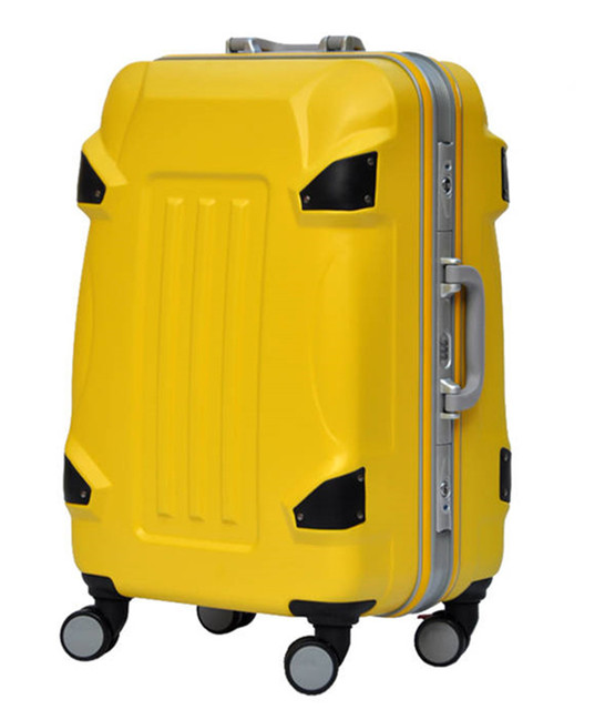 BOLO BRAVE 20 24 28 inch ABS+PC Trolley suitcase /rolling spinner wheels Pull Rod luggage/Women Girl traveller case boarding bag