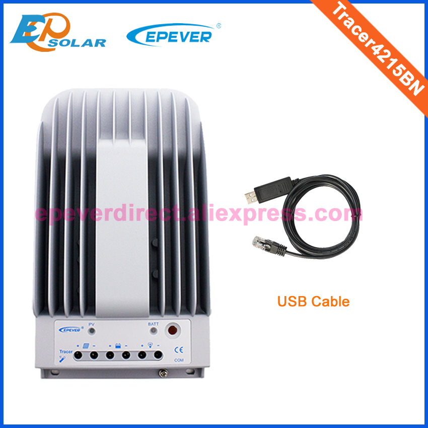 USB cable communication cable Connect PC and solar controller Tracer4215BN 12V 24V auto work EPEVER EPsolar controller 40A