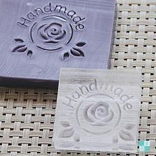 DIY Professional custom handmade soap seal printed