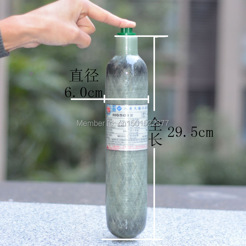 Pcp AirForce Condor special 0.5L Carbon fibre High pressure bottle 30Mpa