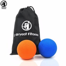 Fitness Ball Yoga Double Lacrosse Message Ball Crossfit Mobility Myofascial Release Trigger Point Peanut Ball Body Building(China)