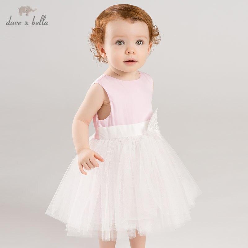 DB7580 dave bella ฤดูร้อนเด็กทารกชุดเจ้าหญิงเด็กวันเกิดงานแต่งงานชุดเด็ก lolital เสื้อผ้า-ใน ชุดเดรส จาก แม่และเด็ก บน AliExpress - 11.11_สิบเอ็ด สิบเอ็ดวันคนโสด 1