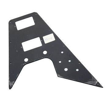 Replacement Pickguard For '70's Kalamazoo Made Gibson Flying V, BLACK image