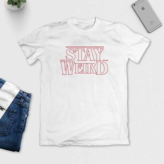 db6e1475a STAY WEIRD T Shirt Funny Tee Women Funny Tumblr Graphic tees tshirt Summer  style t shirt tops drop ship free shipping-in T-Shirts from Women's Clothing  on ...