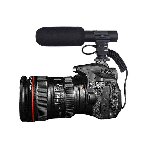 Microphone 3 5mm Digital Video Recording Interview Hifi HD Sound Mini Mic Phone Microphone For SLR DSLR Camera Microphone