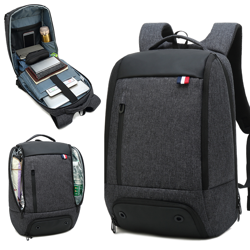 New 15 6 inch Laptop Backpack Men Multifunctional Waterproof Backpack School Bags Business Travel Backpacks for