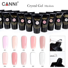 Canni Poly Gel 2018 New Arrival Soak Off Builder Gel Nail Tips Brush Nail Tool Finger Extension Nail Camouflage Gel Crystal Nail