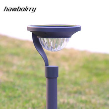 HAWBOIRRY LED Solar Lawn Light Floorstanding Dual-use Energy Saving Home Garden Villa