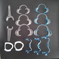 13 pcs Dental Orthodontic Cheek Retractor O C M and T shape large medium and small size