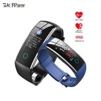 Fashion sport watch Color screen Heart rate Pedometer Monitor motion status waterproof woman watches Smart bracelet