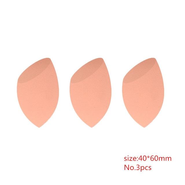 HZM 1/3/5/6 pcs Orange Sponge Foundation Powder Smooth Makeup Sponge Make Up Cosmetic Puff Support Wholesale YA100 1