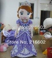 Принцессы Софии костюм талисмана Бесплатная доставка