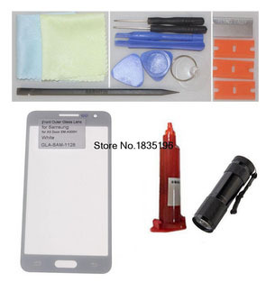 Front Outer Glass Lens for Samsung Galaxy A3 Duos SM-A300H Screen Replacement Repair Kit