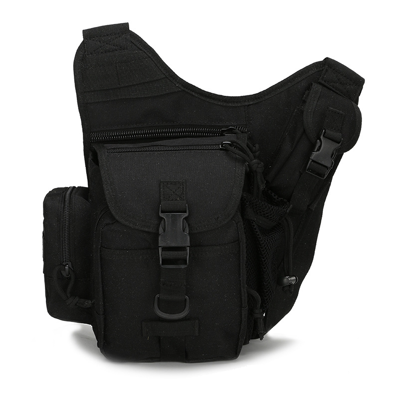 military messenger bag Saddle Bags Camouflage Breathable Waterproof Multifunction Shoulder Bag Adventure <font><b>Photography</b></font> Chest Pack