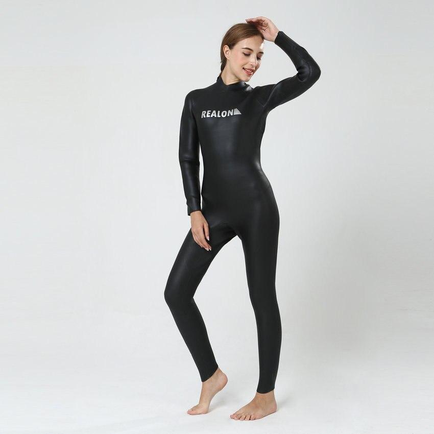 REALON Неопренов костюм за жени 3мм CR - Спортно облекло и аксесоари - Снимка 3