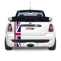 union jack rear decal sticker for mini cooper s countryman R55 R56 R60 R61 paceman super car accessories