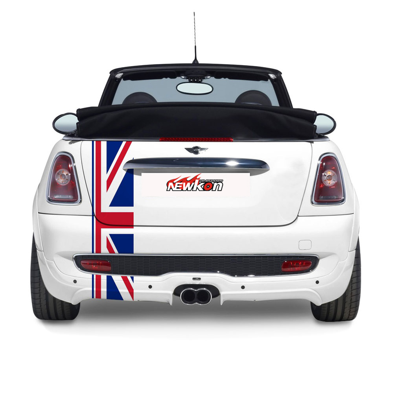 Union Jack One Button Start Stop Sticker Decal Fit For MINI Cooper Countryman