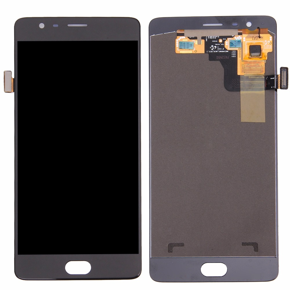 LCD Screen and Digitizer Full Assembly for OnePlus 3 (A3000 Version)LCD Screen and Digitizer Full Assembly for OnePlus 3 (A3000 Version)