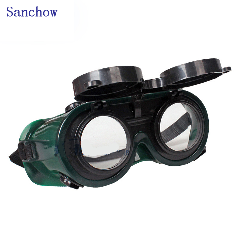 Sanchow Flip up Lens Labour Protection Welding Glasses,protective spectacles,  cutting,sanding,anti-splashing Dual-use Glasse