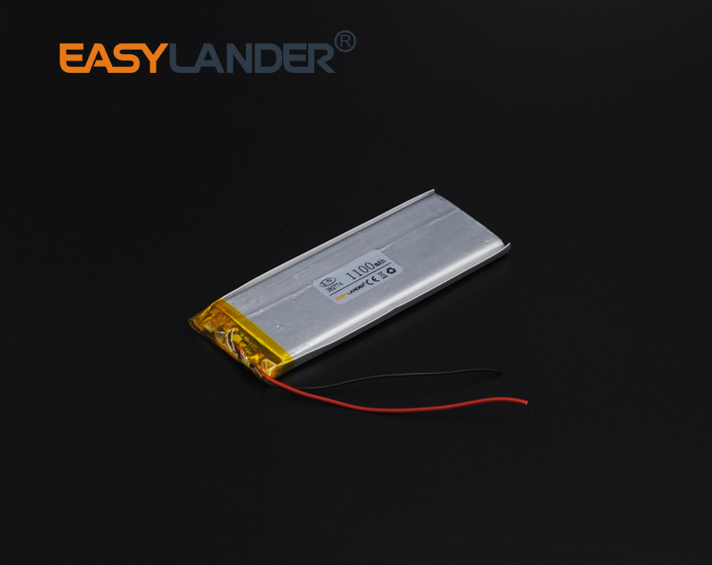 US $8 99 |382774 3 7V 1100mAh Polymer Li ion Battery For china clone phone  4G 4S 5G DIY E book bluetooth Vedio Game toys Tablet PC-in Rechargeable