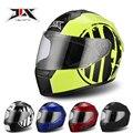 JIX мотоцикл полный шлем тепловой глушитель шарф личность четыре сезона вообще автомобильные гонки шлем
