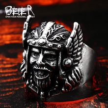 Personlity Retro Of Warcraft Zeus Odin-Nors Thần Thoại Ring Men Titan Đồ Trang Sức Animal Jewelry BR8-239(China)